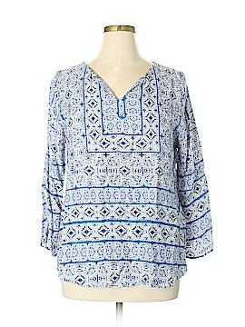 Renee C. Long Sleeve Blouse Size XL