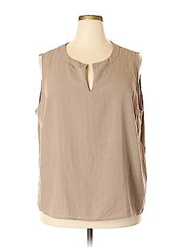 Jaclyn Smith Sleeveless Blouse Size 3X (Plus)