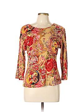Jane Ashley 3/4 Sleeve Top Size L