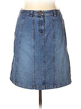 Carolina Blues Denim Skirt Size 16