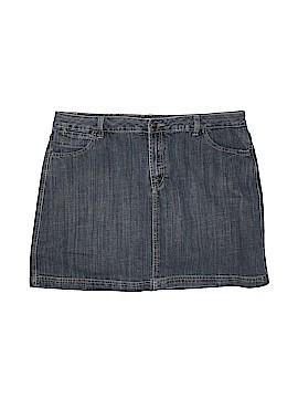 Cj Banks Denim Skirt Size 18 (Plus)