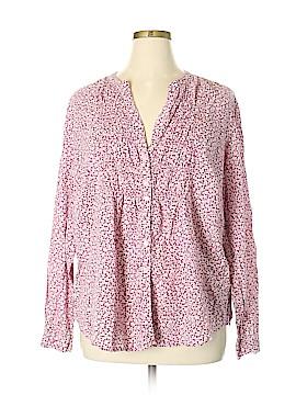 Erika Long Sleeve Button-Down Shirt Size 2X (Plus)