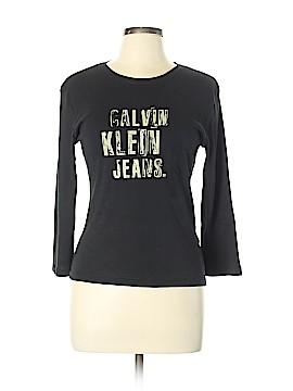 CALVIN KLEIN JEANS Long Sleeve T-Shirt Size L