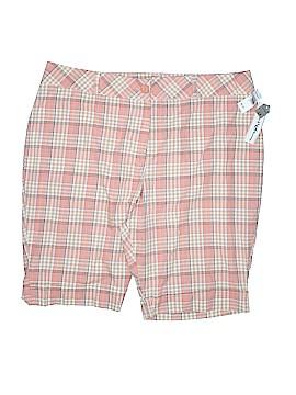 Jamie Nicole Collection Khaki Shorts Size 24 (Plus)