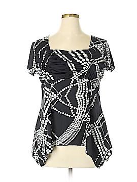 American City Wear Short Sleeve Blouse Size 2X (Plus)