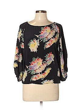 Lie 3/4 Sleeve Silk Top Size 10