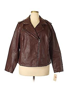 Levi's Faux Leather Jacket Size 2X (Plus)