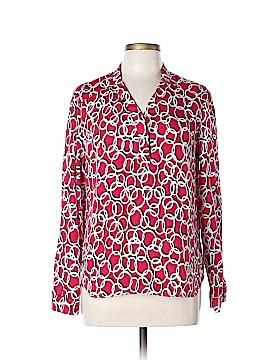Jones Studio Long Sleeve Button-Down Shirt Size L