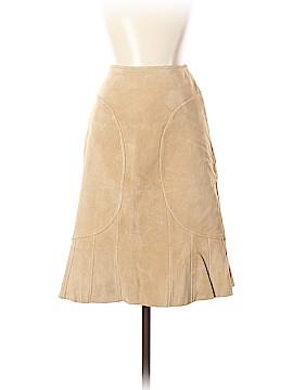 Moda International Leather Skirt Size 4