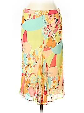 Lafayette 148 New York Silk Skirt Size 12