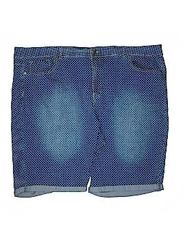 Avenue Denim Shorts Size 30 (Plus)