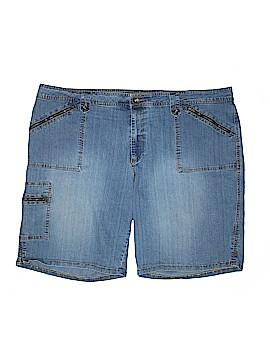Faded Glory Denim Shorts Size 28W (Plus)