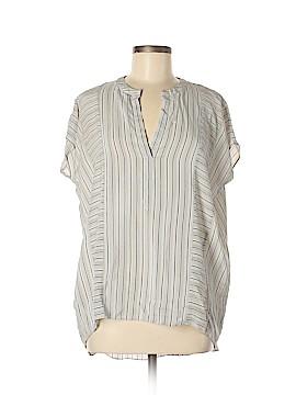 BCBGMAXAZRIA Short Sleeve Silk Top Size XS / Sm