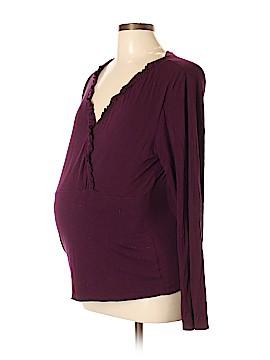 Motherwear Long Sleeve Top Size L (Maternity)