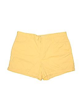 Faded Glory Khaki Shorts Size 16 (Plus)