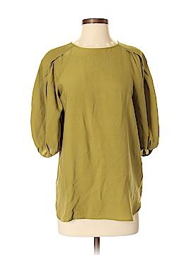 Calypso St. Barth 3/4 Sleeve Silk Top Size XS