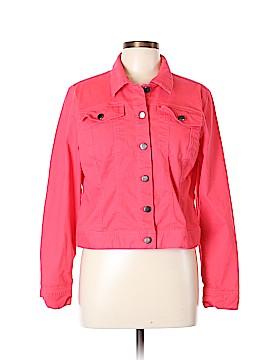 Chadwicks Denim Jacket Size L (Petite)