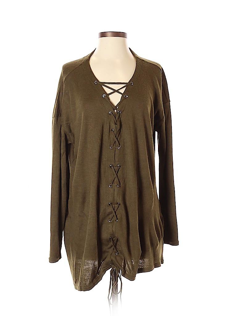 Mittoshop Women Pullover Sweater Size S