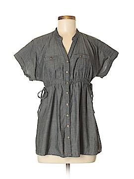 Mine Short Sleeve Button-Down Shirt Size M