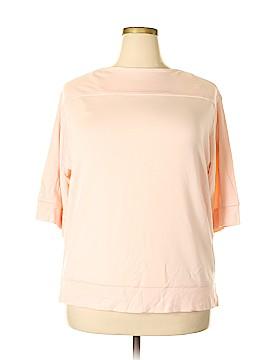 Lauren Jeans Co. 3/4 Sleeve Top Size 1X (Plus)