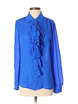 Jeunesse Long Sleeve Silk Top Size S
