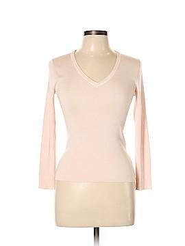 Henri Bendel Silk Pullover Sweater Size L