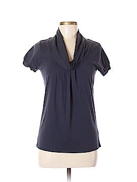 Velvet Short Sleeve Top Size M