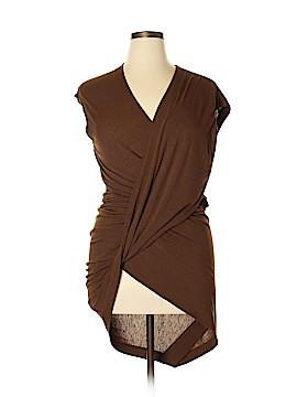 Donna Karan Collection Short Sleeve Top Size L