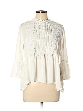 Xhilaration 3/4 Sleeve Blouse Size XL