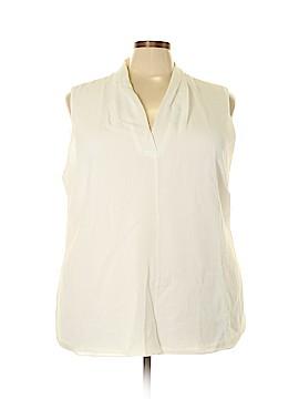 Calvin Klein Sleeveless Blouse Size 3X (Plus)