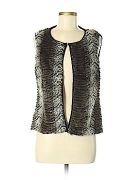 New Directions Faux Fur Vest Size M (Petite)