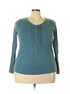 L.L.Bean Long Sleeve Henley Size XL