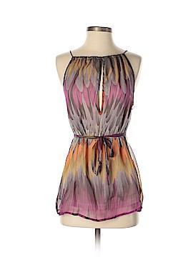 Subtle Luxury Sleeveless Silk Top Size M