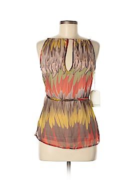 Subtle Luxury Sleeveless Silk Top Size S