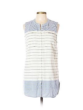 Merona Sleeveless Button-Down Shirt Size XL