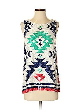 Calypso St. Barth Sleeveless Silk Top Size XS