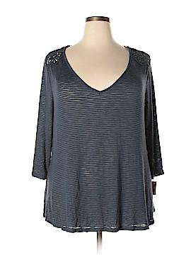 Jessica Simpson 3/4 Sleeve Top Size 2X (Plus)