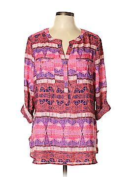 Kim Rogers 3/4 Sleeve Blouse Size XL