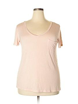 American Dream Short Sleeve T-Shirt Size 1X (Plus)