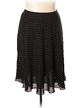 Jones New York Silk Skirt Size 16W