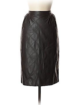 Lanvin Leather Skirt Size 44 (IT)