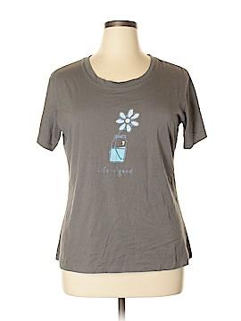 C Label Short Sleeve T-Shirt Size XL