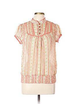 Monteau Short Sleeve Blouse Size L