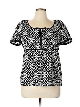 R.Q.T Short Sleeve Blouse Size XL
