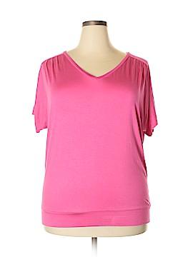 Valerie Bertinelli Short Sleeve Top Size 1X (Plus)