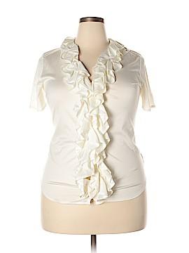 Ralph Lauren Black Label Short Sleeve Button-Down Shirt Size XL