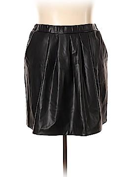 Joe Fresh Faux Leather Skirt Size 2X (Plus)