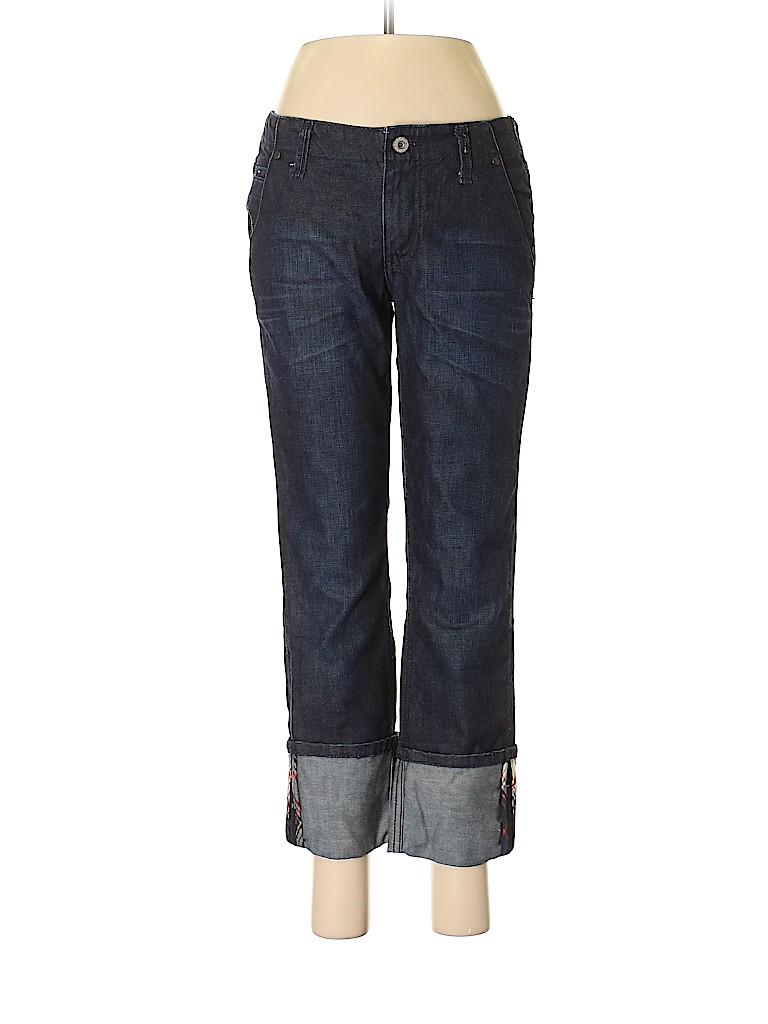 97a6cd03 Tommy Hilfiger Solid Dark Blue Jeans Size 4 - 89% off   thredUP