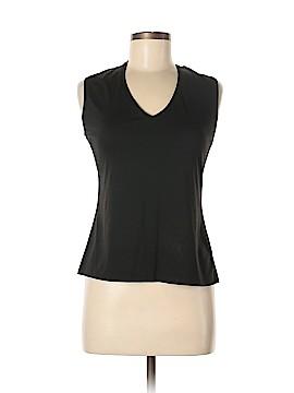 New York & Company Sleeveless T-Shirt Size L