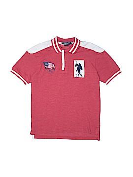 U.S. Polo Assn. Short Sleeve Polo Size 12